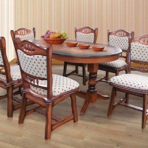 Étkezőasztalok, székek, bárszékek